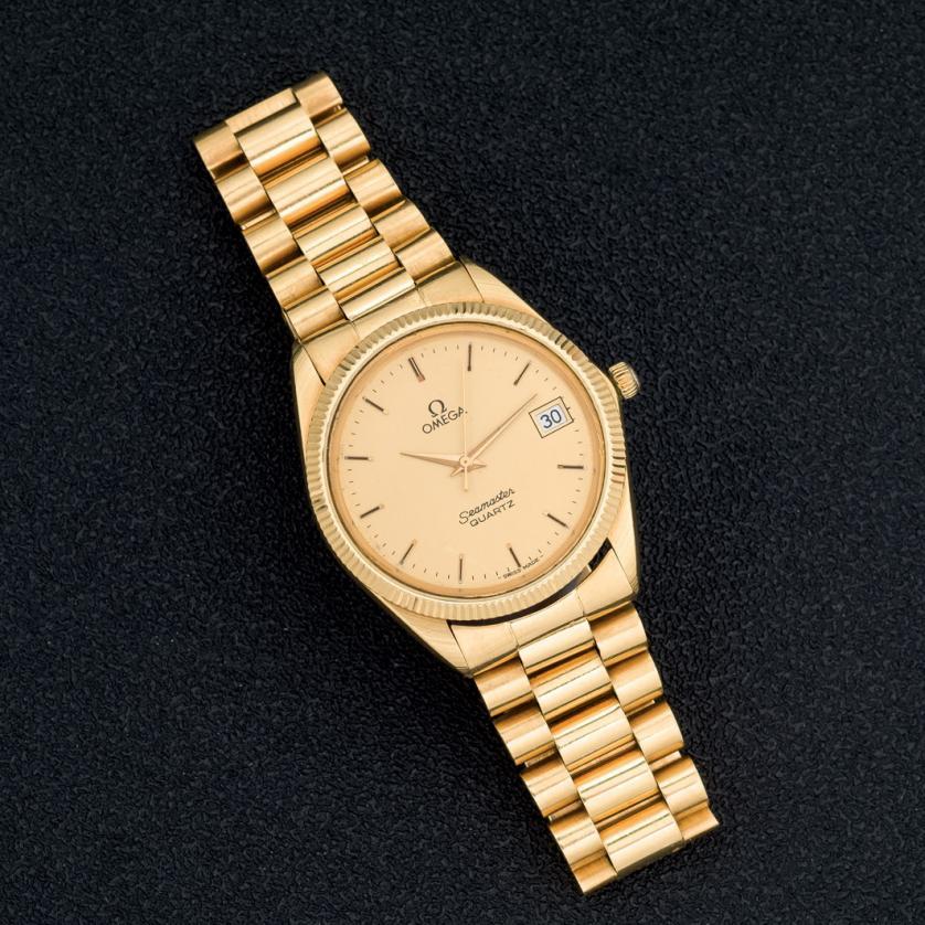 Reloj Omega Seamaster de oro