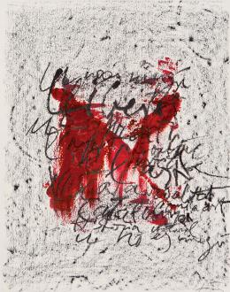 """""""Sin título"""". Litografía. 37 x 29. Numerada 2/2000"""