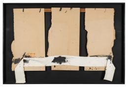 Antoni Tàpies. Tres Cartons (1974)