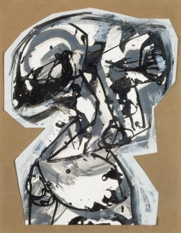 Antonio Saura. Sin título - Rompecabezas (1961)