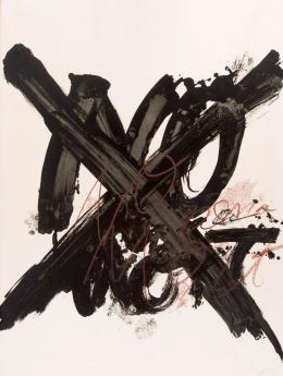 """""""Pro abolició pena de mort"""". Litografía. Numerada"""