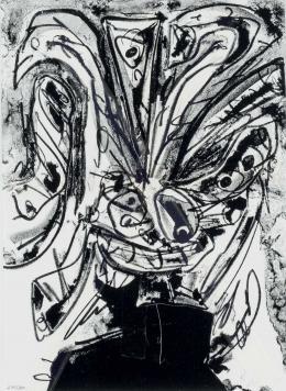 Antonio Saura. Figura