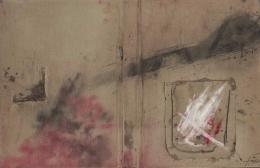 Antoni Tàpies. Maqueta La Clau del Foc