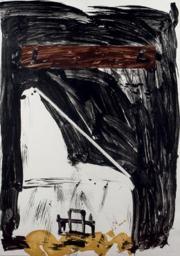 Antoni Tápies. Grande Chaisse