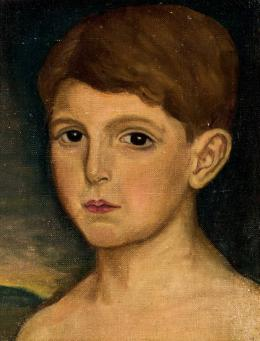 Julio Romero de Torres. Retrato de niño