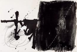 Antoni Tàpies. Negro y gris