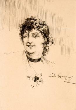 Julio Romero de Torres. Retrato de dama