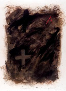 Antoni Tàpies. Sin título (1975)
