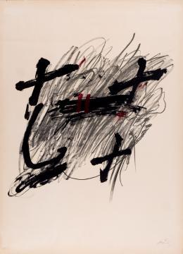 Antoni Tàpies. Sin título (1971)