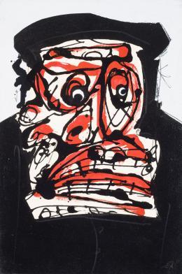 Antonio Saura. Sin título (1978)