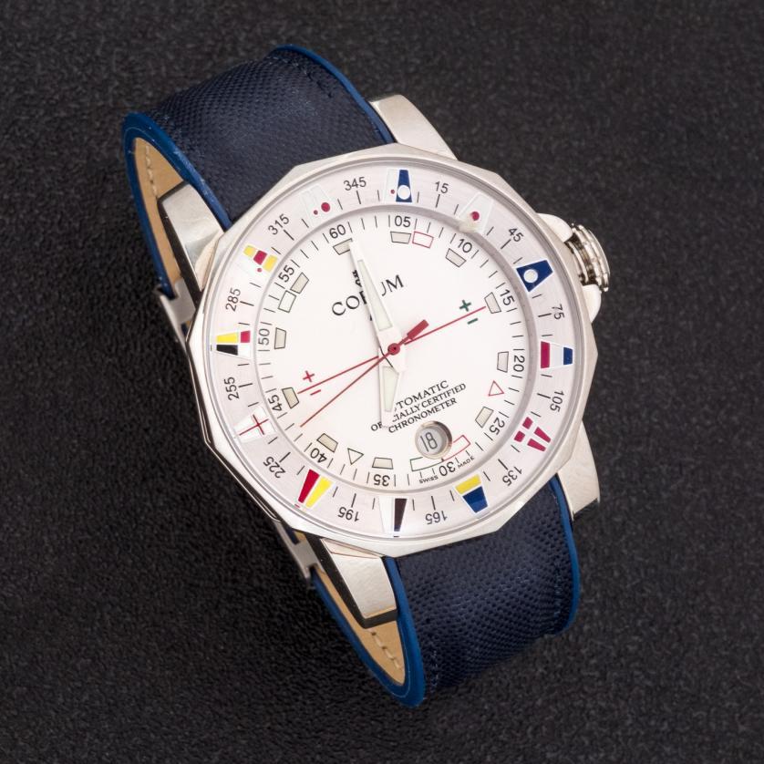 Reloj Corum Admirals Cup acero, automático