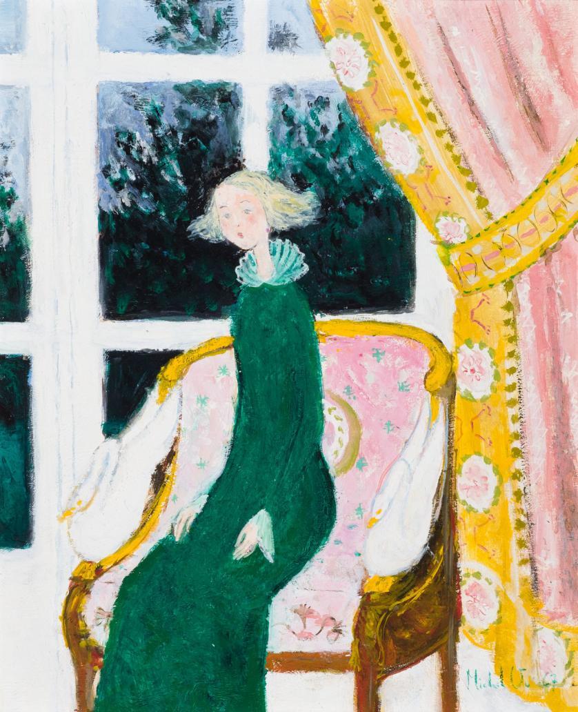 Michel Vu. Joven junto a la ventana