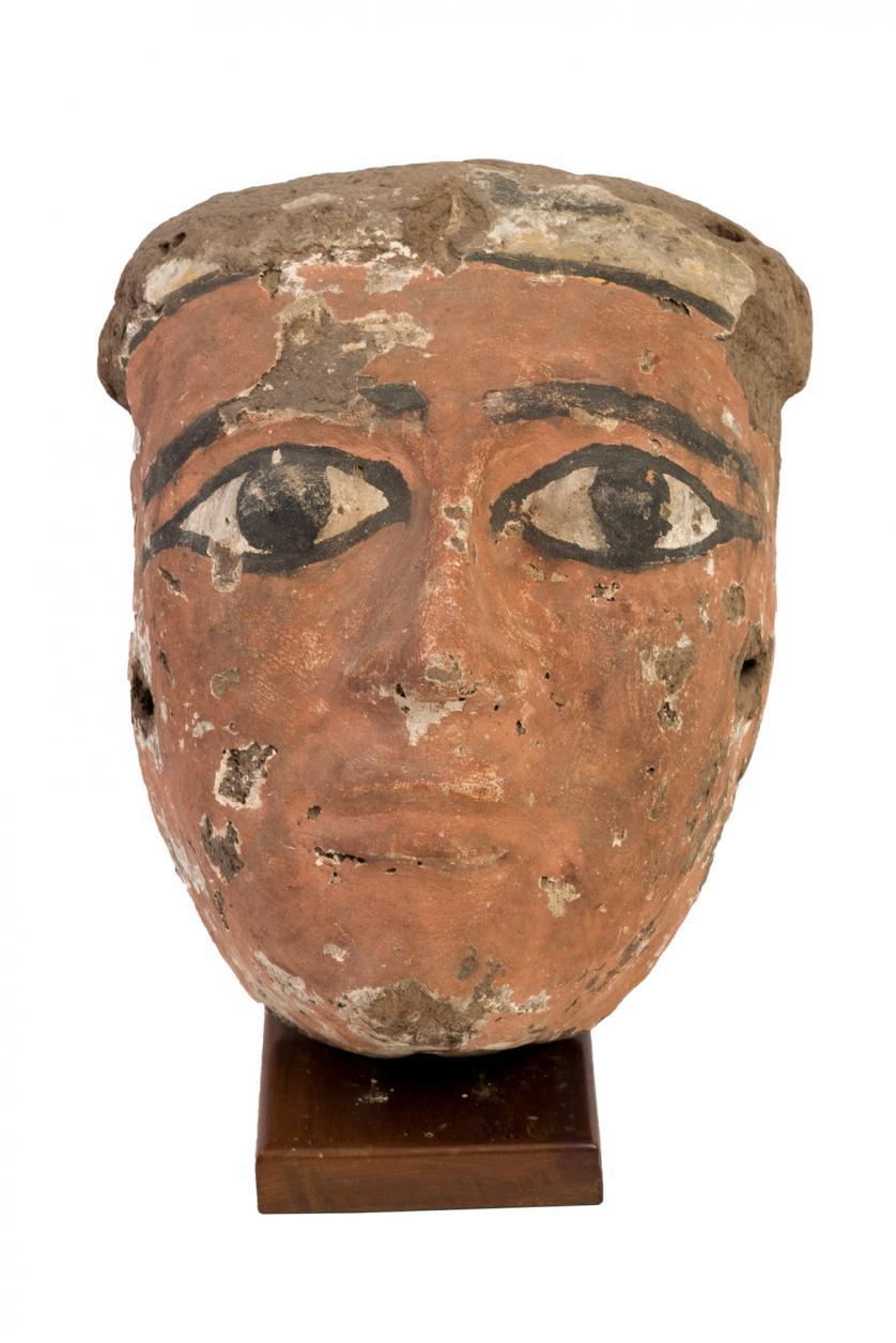 Máscara funeraria. Egipto. Periodo Intermedio