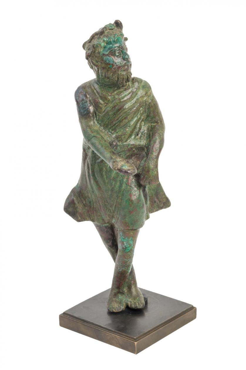 Estatua de actor de teatro. Roma. S. II d.C