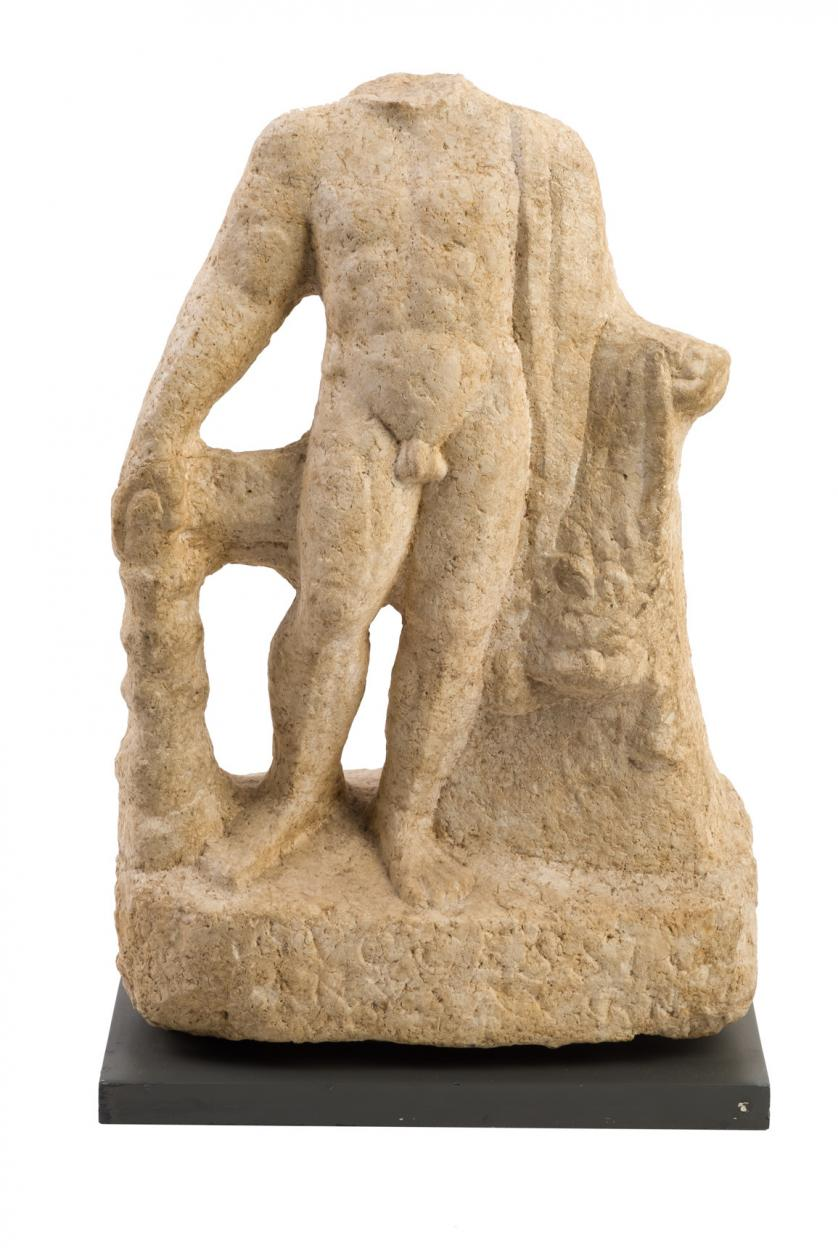 Estatua de Júpiter. Roma. II/III d.C
