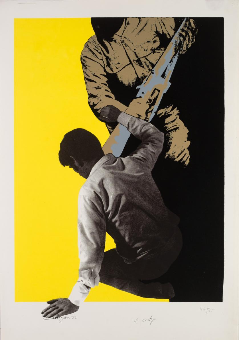 Rafael Canogar. El castigo (1972)