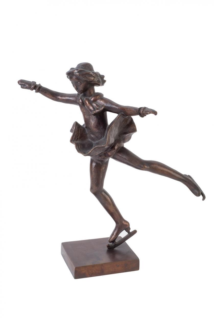 Carl Milles. Skridskoprinsessan (1954)