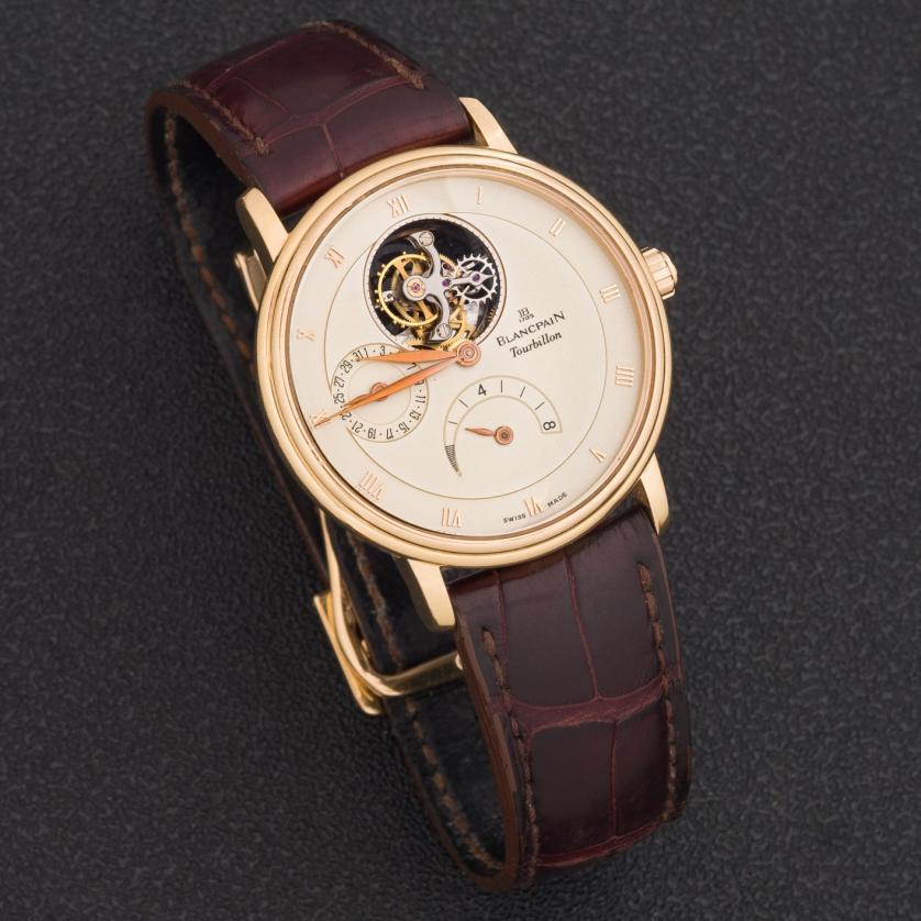 Reloj Blancpain Villeret Tourbillon, calibre 25