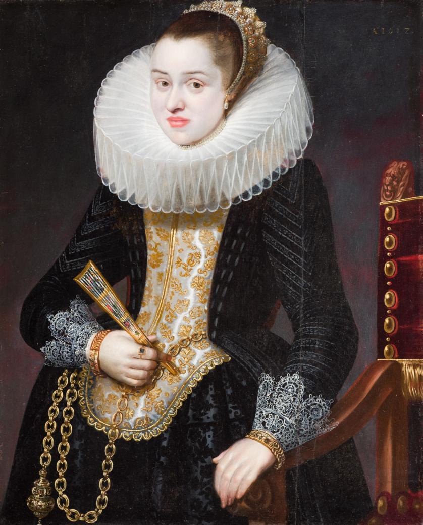 Cornelis de Vos. Retrato de dama
