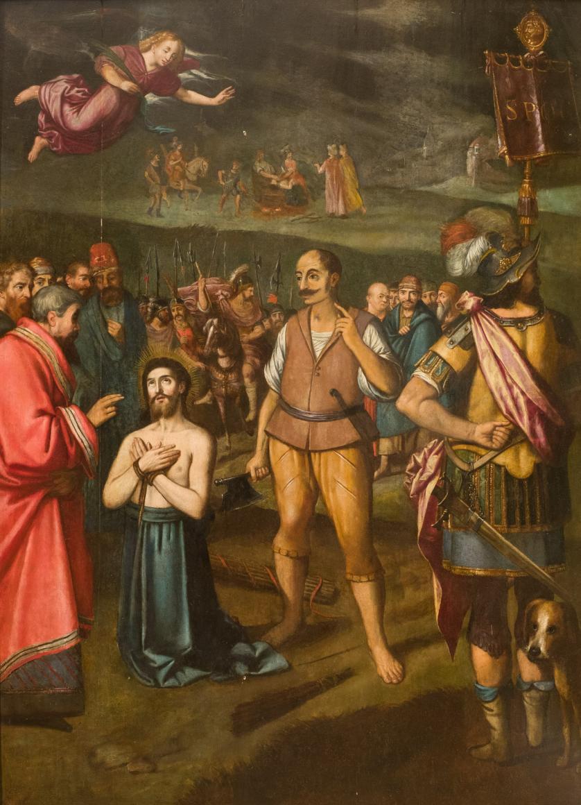 Escuela Flamenca S. XVII. Prendimiento de Cristo