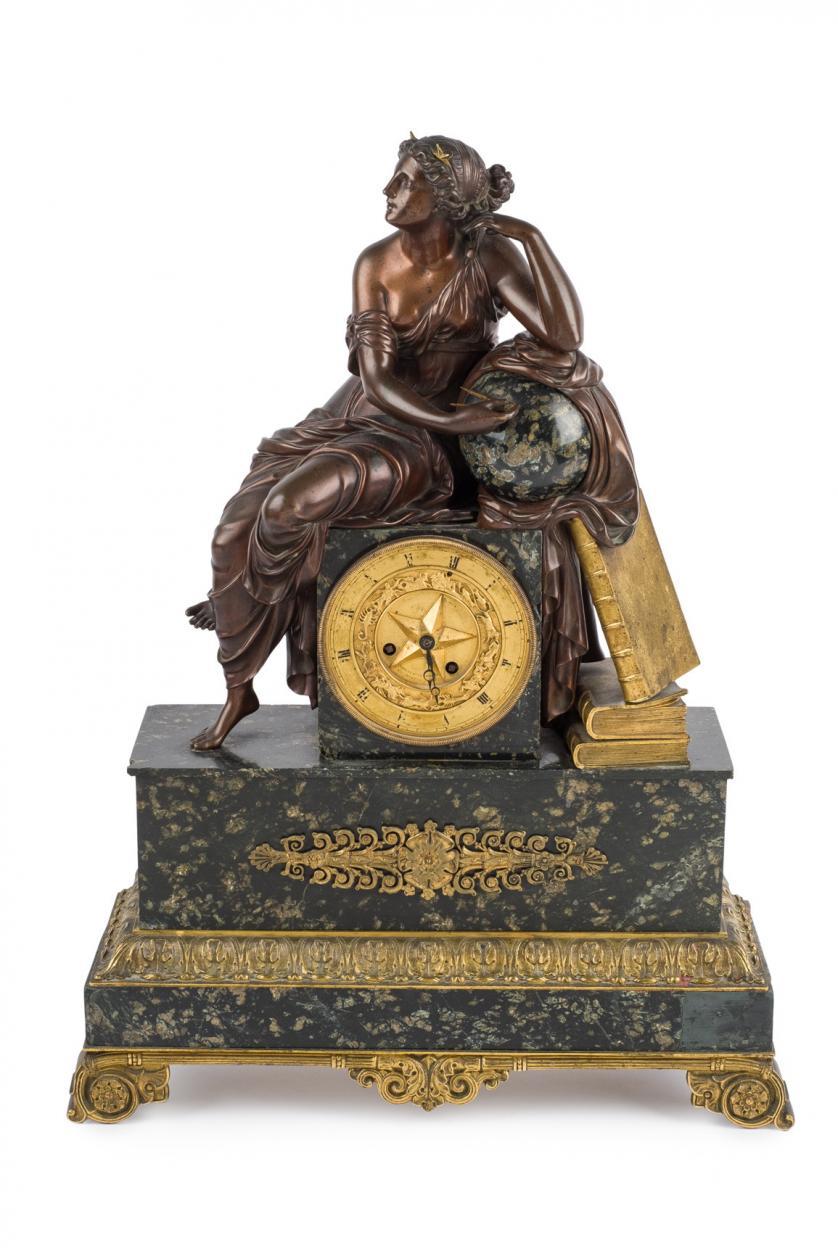 Reloj de sobremesa Imperio. Francia S. XIX