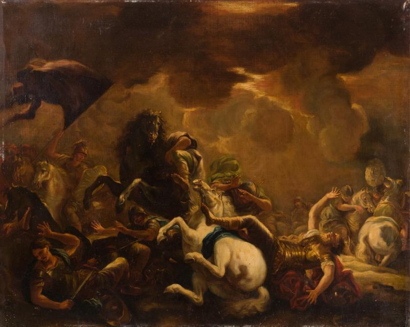 Luca Giordano. La conversión de San Pablo