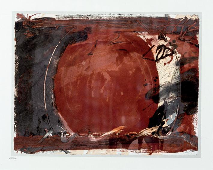 Antoni Tàpies. Composición