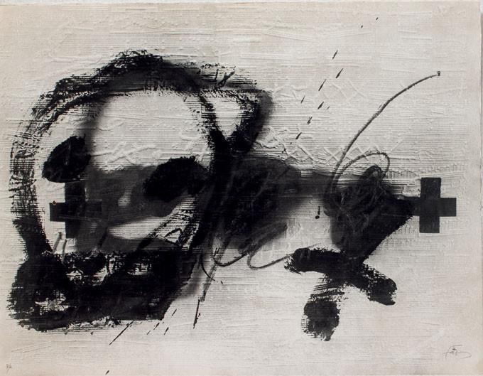 Antoni Tàpies. Variations sur un thème musical 6