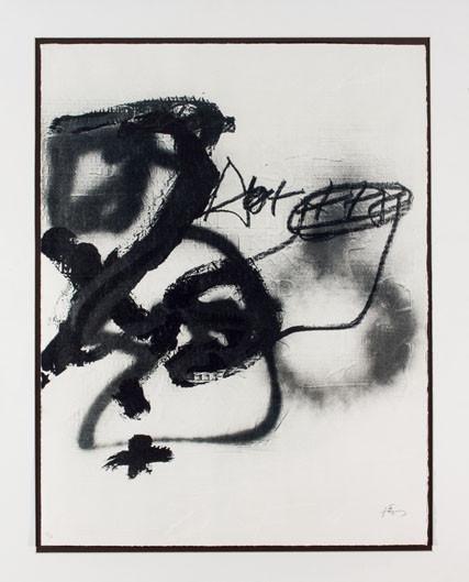 Antoni Tàpies. Variations sur un thème musical 14