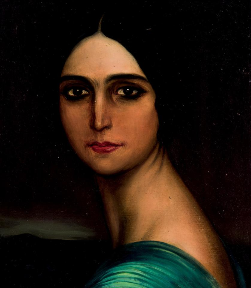 Julio Romero de Torres. Mujer morena