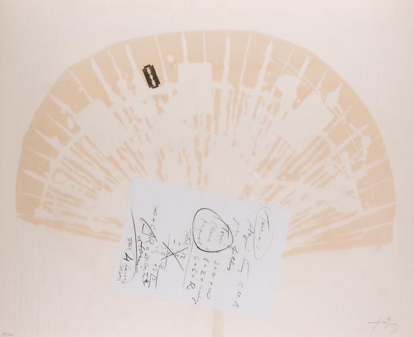 Antoni Tapies. Cartes per a la Teresa (1974)