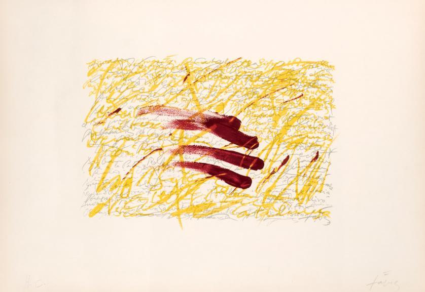 Antoni Tàpies. Sin título