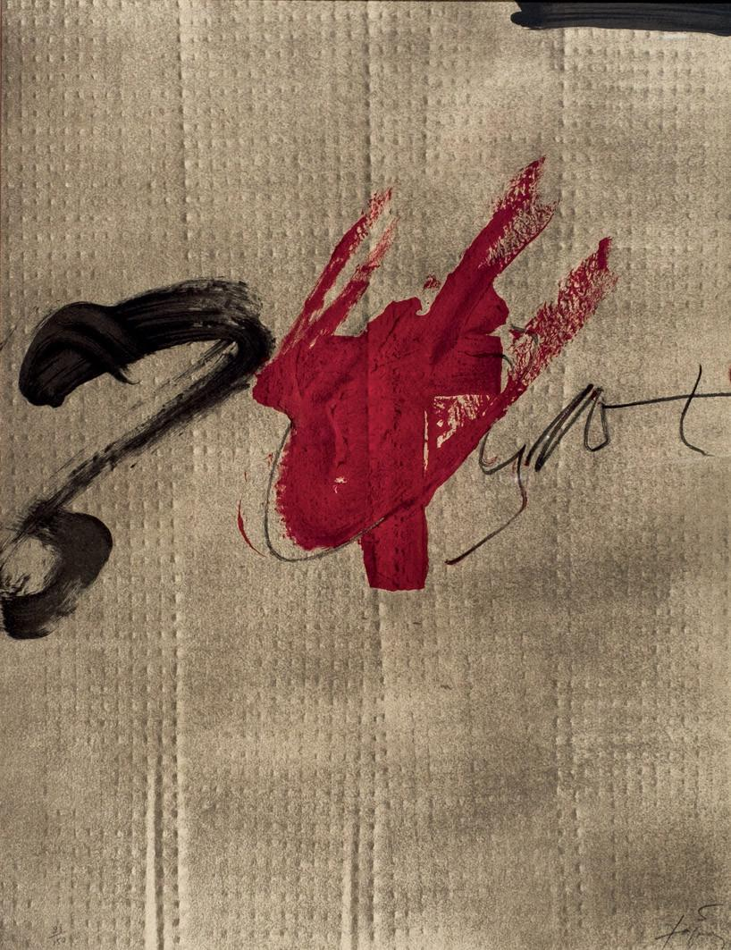 Antoni Tàpies. Exposición Tàpies (1979)