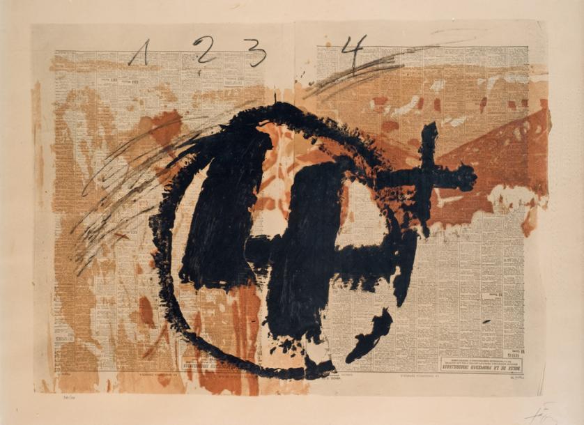 Antoni Tàpies. Meditaciones (1976)