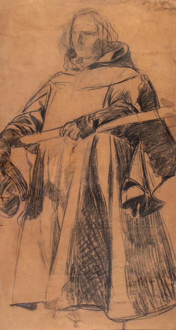 Joaquín Sorolla. Boceto para Colón (1910)