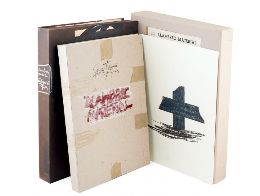 Antoni Tàpies. Llambrec Material (1975)