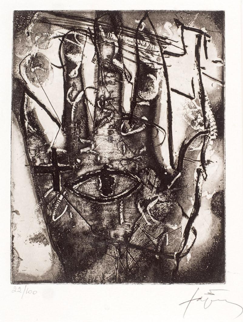Antoni Tàpies. Mà i ull (1986)