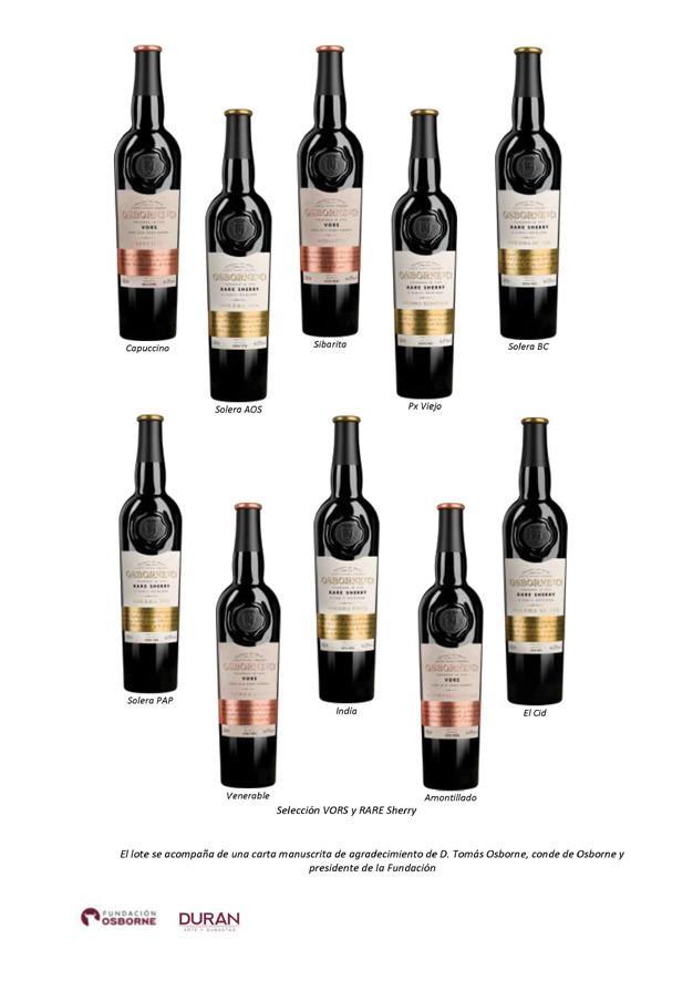 Selección VORS y RARE sherry