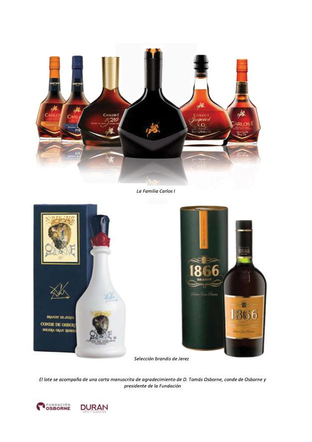 Selección de brandis de Jerez
