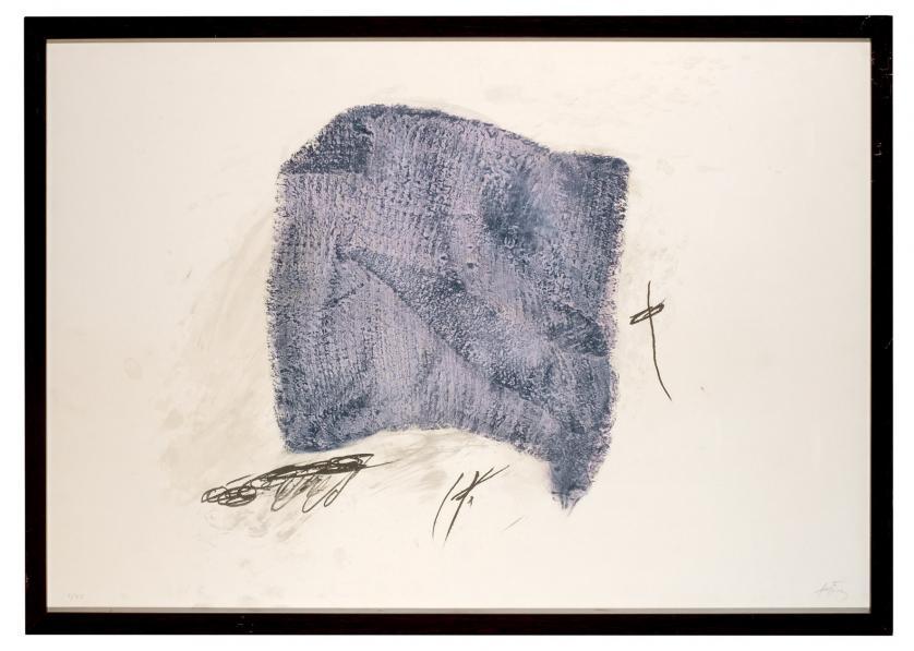 Antoni Tàpies. La serpillière (1971)
