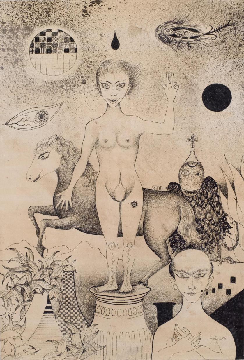 Antoni Tàpies. Dibujo para la Historia Natural