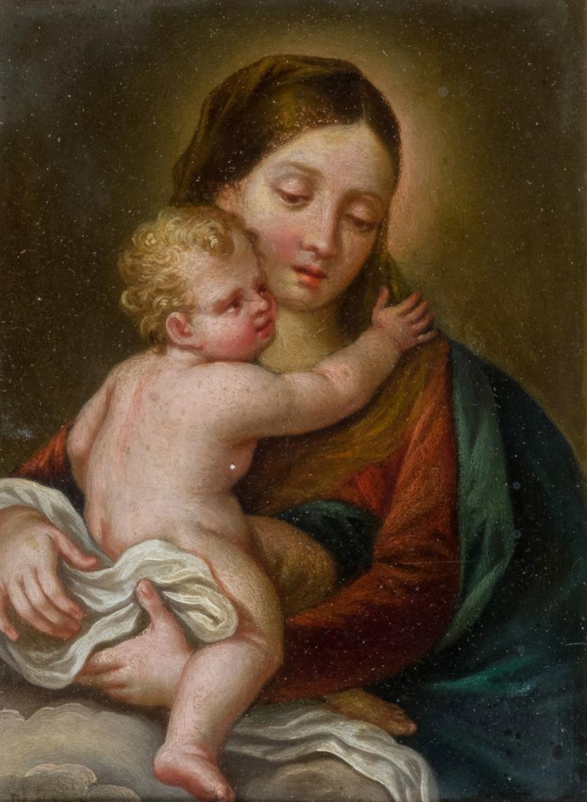 Vicente López Portaña. Virgen con Niño