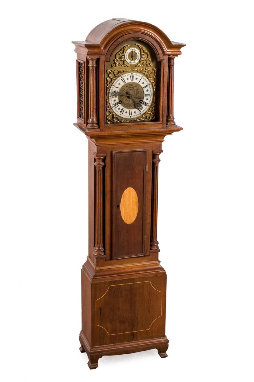 Reloj pie enano David Hughes. Inglatera, S. XIX