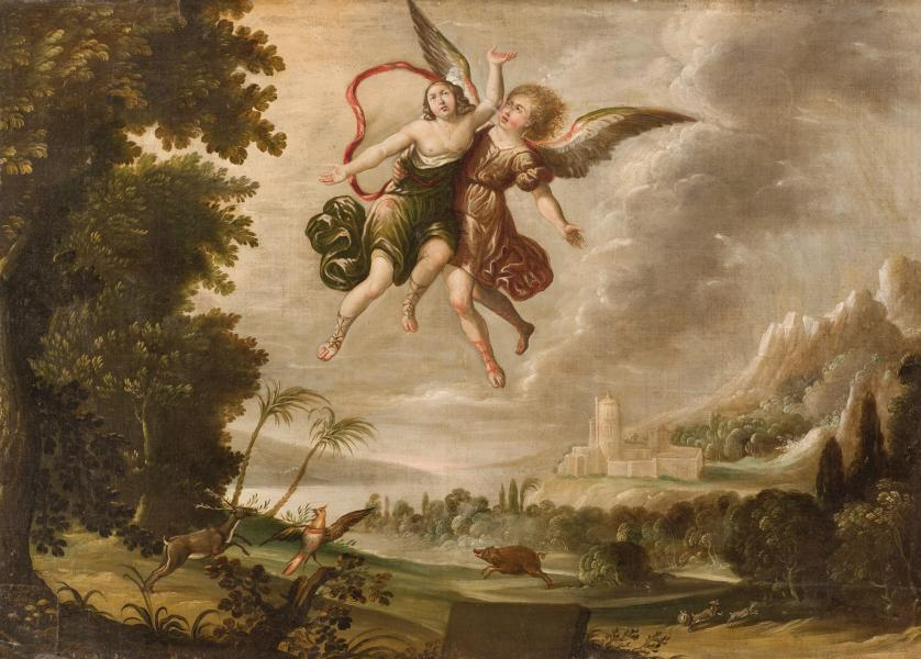 Esc. Sevillana. S. XVII. Catasterismo de Perseo